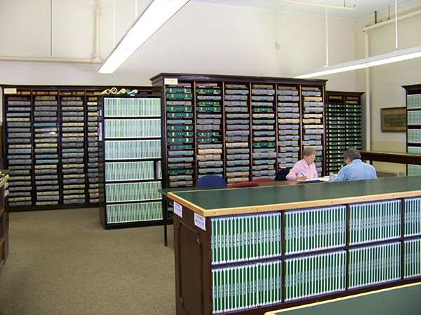 Registry of Deeds Room, Somerset County Maine